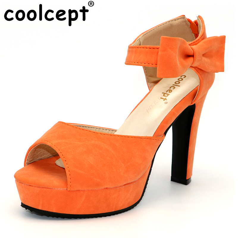 Size 31-43 Ladies High Heels Sandals Peep Toe Ankle Strap Bowtie Thin High Heeled Shoes Women Sexy Female Party Wedding Sandal women peep toe ankle strap platform high heel sandals summer sexy fashion ladies heeled footwear heels shoes size 34 39 p16703