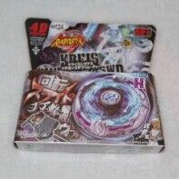 Best Birthday Gift 1pcs Beyblade Metal Fusion 4D set KBEIS GYGNOS145WD BB124 kids game toys children beyblade launcher Christmas