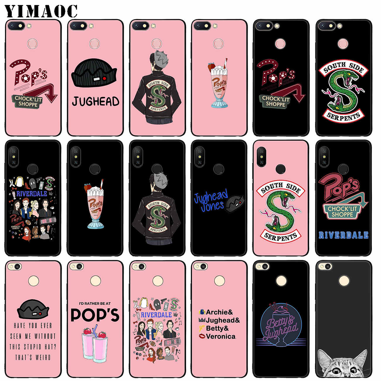YIMAOC Riverdale TV South Side Serpents Soft Silicone Phone Case for Xiaomi Redmi K20 Pro 6A 5A 7A Note 7 5 6 Pro Mi Cover