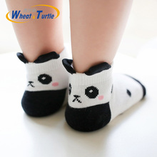 5 Pcs/Lot Newborn Cotton Winter Autumn Baby Girls Boys Kids Socks Infant Striped Terry Warm slippers Star Brand New Children Dot 10pairs pack newborn infant kids 0 3year socks new baby terry socks winter warm wholesale cartoon cotton boys girls