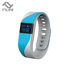 TTLIFE M2S сердечного ритма Смарт часы-браслет Bluetooth 4.0 фитнес трекер сна монитор Спорт Браслет Смарт Группа для IOS Android