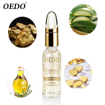 OEDO Shrink Pores Gold Hyaluronic Acid liquid Moisturizing Face Serum Whitening Plant Skin Care Anti Aging Anti Wrinkle Cream  2