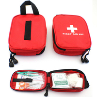 31 Pcs Pack First Aid Kit Package Portable Camping Hiking Travel First Aid Medical Emergency Kits