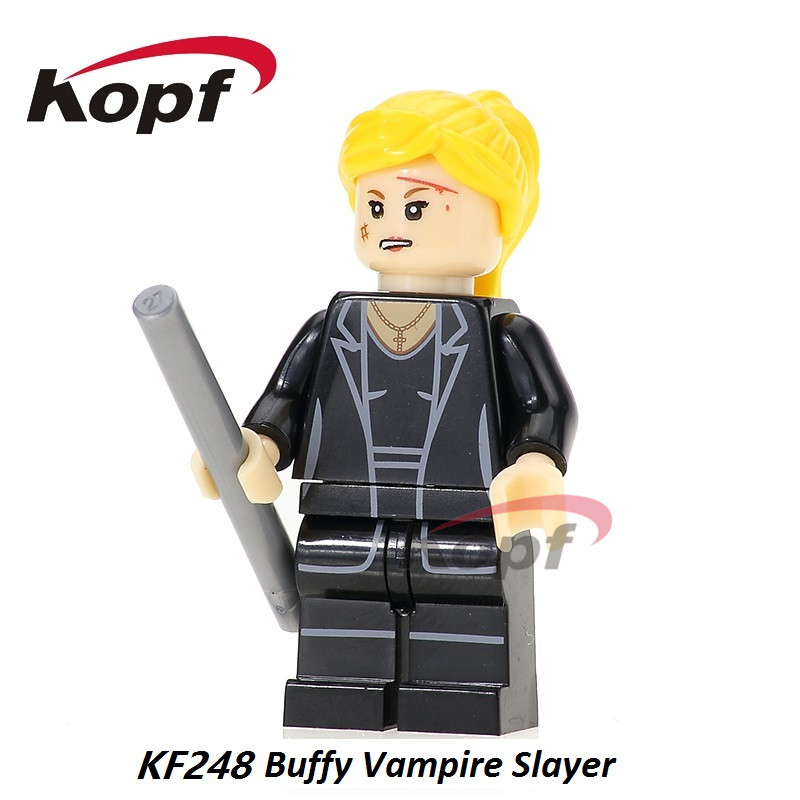 KF248 Super Heroes Assemble Gliles Single Sale Bricks Buffy Vampire Slayer Figures Building Blocks Children Gift Best Toys