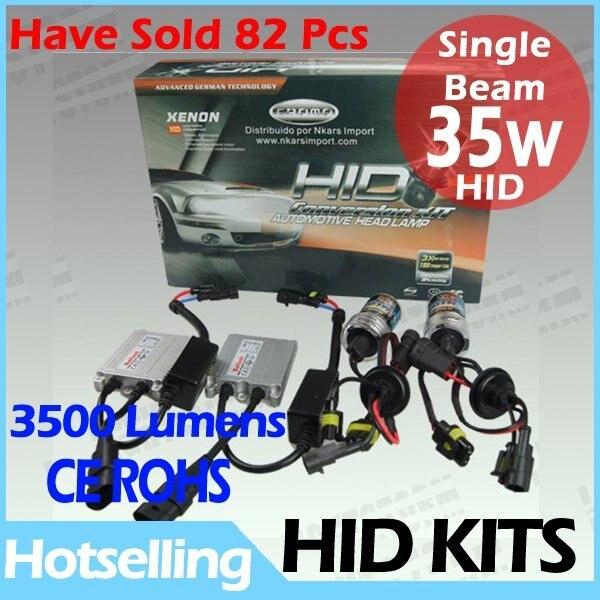 Promotion!Crazy price ! 35W new arrival HID conversion kit H1 H3 H4 H7 H11 9004 9007 9006 880 881 D2C  Slim ballast 4300k-12000k