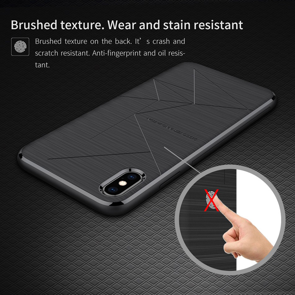 NILLKIN Magnetic Phone Cases For iPhone Xr Xs Max Soft Shockproof Case Cover For iPhone X 8 Xr Plus Cover Car Phone Holder Coque (6)