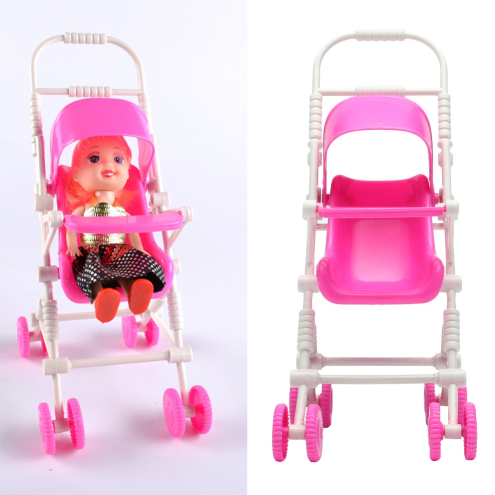 New Embly Doll Baby Stroller Trolley Nursery Furniture Toys Pink In From Hobbies On Aliexpress Alibaba Group