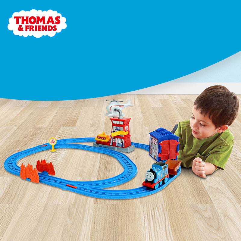 Genuine Thomas and Friends Plastic Train Railway Track Electric Series Mini Diecast Model Toy BMF10 For Children Birthday Gift