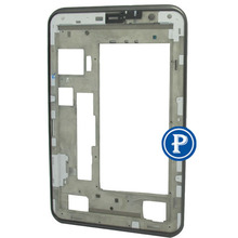 7″ For Samsung Galaxy Tab 2 P3100 P3110 P3113 LCD Frame Bezel Housing Front housing in Grey without small parts free shipping