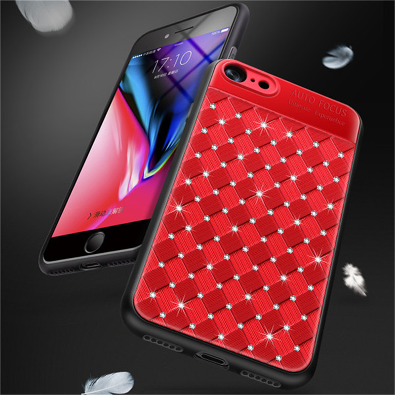 luxury Diamond Mobile Phone Cases For Huawei Mate 10 Lite P8 P9 Lite 2017 P10 P20 P30 ORO Nova 3 3i 4 Honor 8X Cover Y9 2019 in Fitted Cases from Cellphones Telecommunications