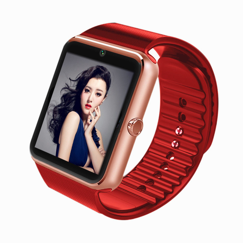 Bluetooth Smart Watch GT08 Kell Sport Sportkellad ios iphone nutitelefoni jaoks samsung huawei toe bluetooth peakomplekt 10tk
