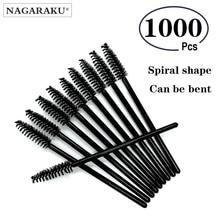 NAGARAKU Eyelash Extension Mascara Brush 1000 pcs lot Micro Durable Disposable  For Eyelash Glue Cleaning Tool