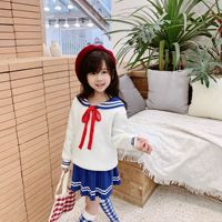 Baby girl clothes set girls sweater skirt set toddler girls outfits