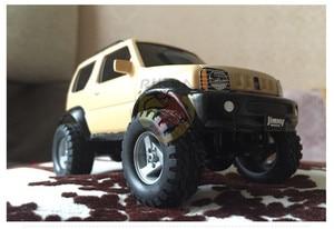 Image 3 - 1:32 نموذج سيارة لسوزوكي جيمي نموذج ألعاب جنسية 4X4 المرآب عدة الطرق الوعرة الملحقات