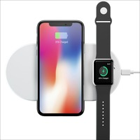 Wofalo Wireless Charge For IPhone X 8 8plus Wireless Charger Pad Fast Charging For Apple Watch
