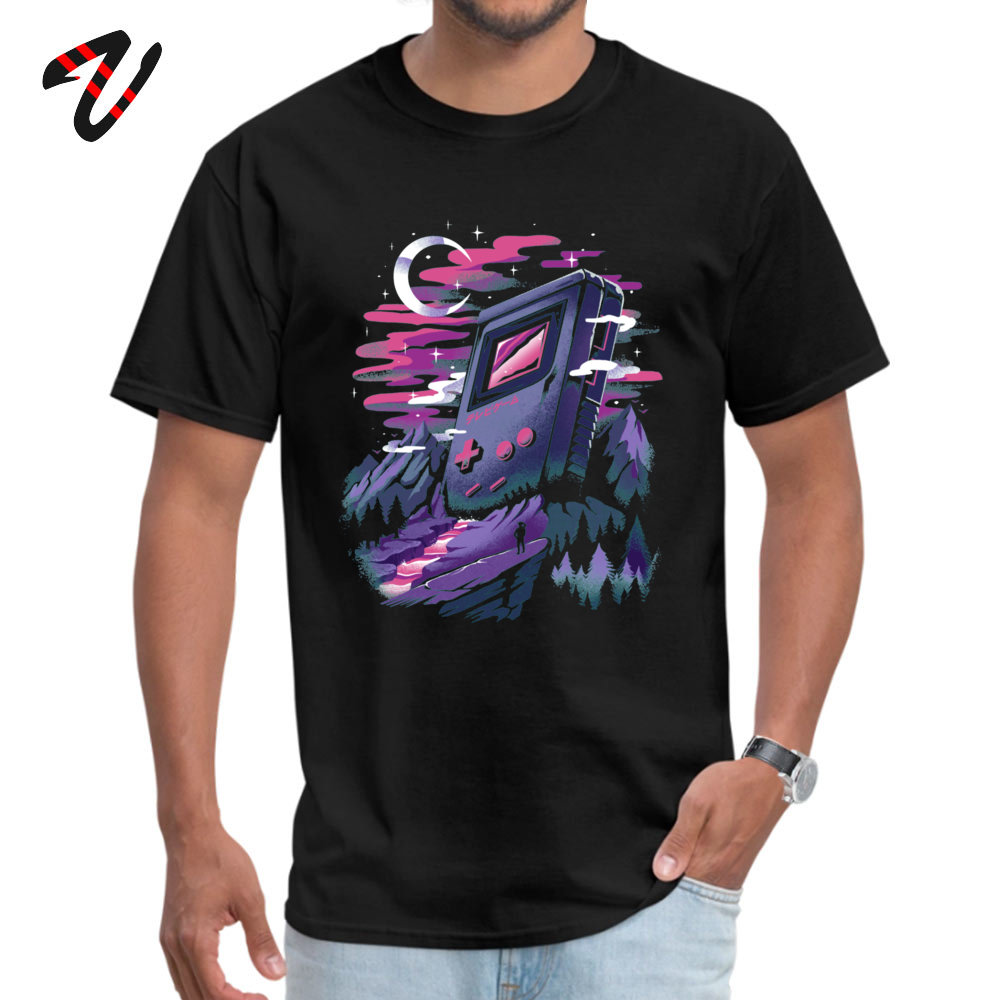 Funny Games Dreamland 2020 Slim Fit Tees Summer/Autumn Dragon Ball Short Teen Wolf Tshirts For Men Graphic Top T-Shirts Gift image