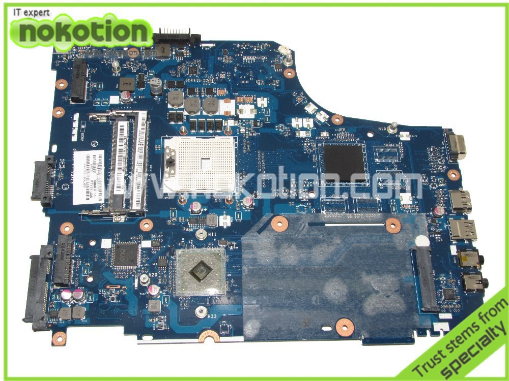 NOKOTION MB.BUX02001 LA-6991P For Acer aspire 7560G laptop Motherboard  DDR3 Full tested nbmny11002 nb mny11 002 for acer aspire e5 511 laptop motherboard z5wal la b211p n2940 cpu ddr3l