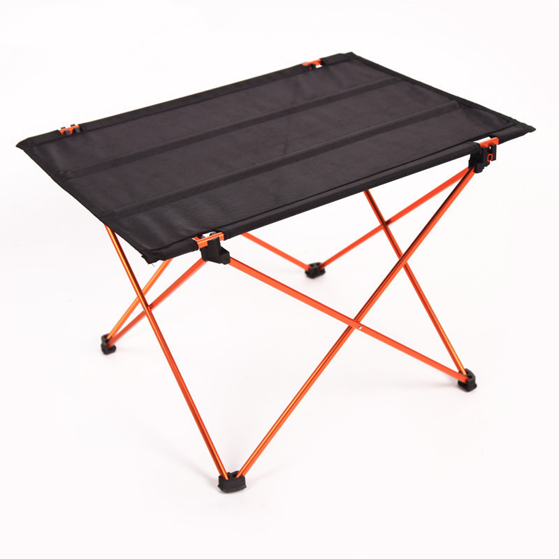 ФОТО New Lightweight Aluminium Alloy Portable Folding Table Camping Outdoor Foldable Picnic Barbecue Desk