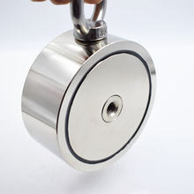 Неодимовый магнит 490 кг сильный двухсторонний рыболовный крючок