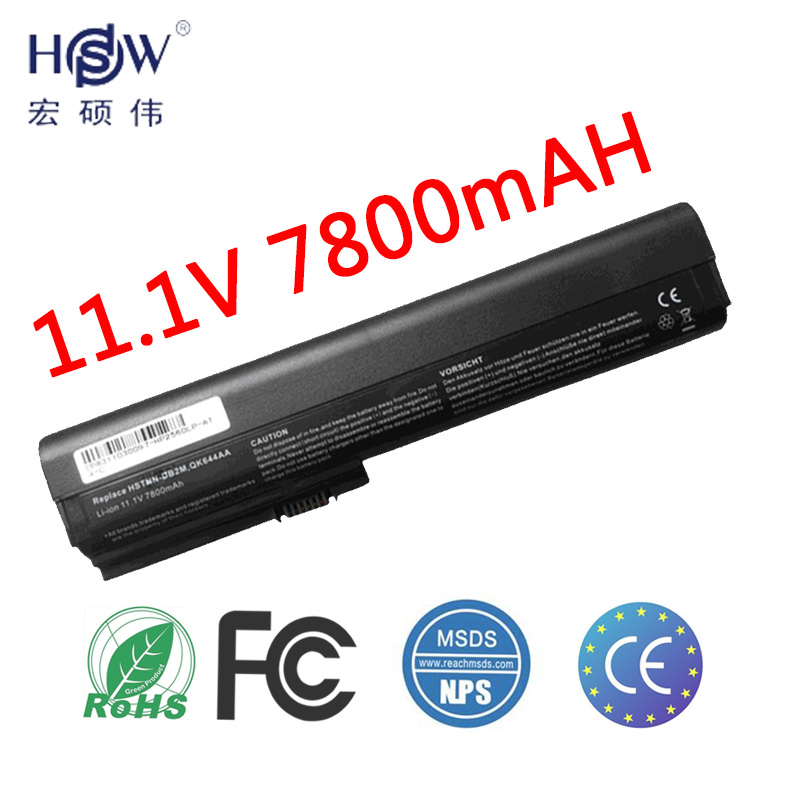 9cell 7800mah laptop battery for HP SX06XL,SX09 FOR EliteBook 2560p,2570p ,HSTNN-UB2L,QK644AA