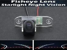 HD 1080P Fisheye Lens Trajectory Tracks Reverse Car Rear view Camera for Volvo S40 S60 S80 XC90 XC60 V60