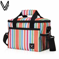VEEVANV 2019 Hot Sale Insulated Cooler Bags For Women Work Lunch Bag Large Food Cooler Bags Thermal Messenger Bag 3 Colors