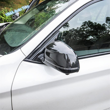 цены Lapetus Car Styling Side Door Rearview Mirror Protection Cap Cover Trim ABS Fit For BMW X5 G05 2019 Chrome Carbon Fiber Style