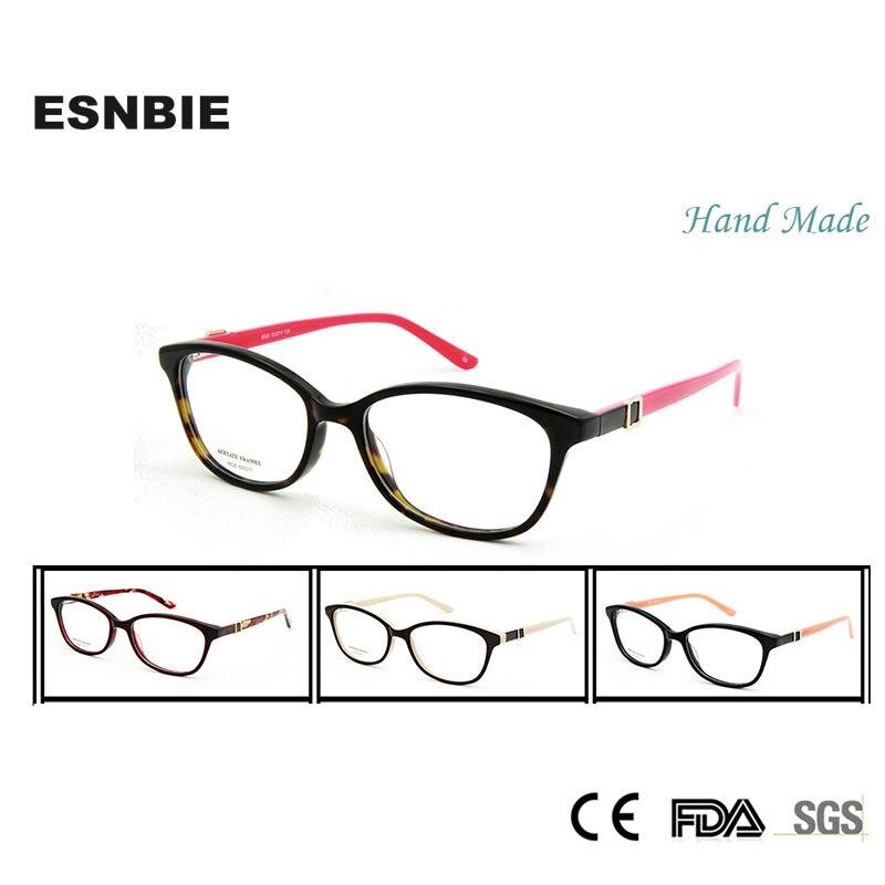 ESNBIE Decoration Glasses Optical oculos de grau feminino Stone Fashion Designer Butterfly Fashion Eye Glasses Frames for Women