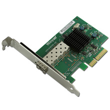 Single Port Gigabit Fibre Channel Server Adapter PCI-E X4 Card JL82576EB Chipset