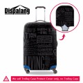 waterproof luggage protective covers elastic trolley luggage protective covers cool black suitcase cover men travel accessories