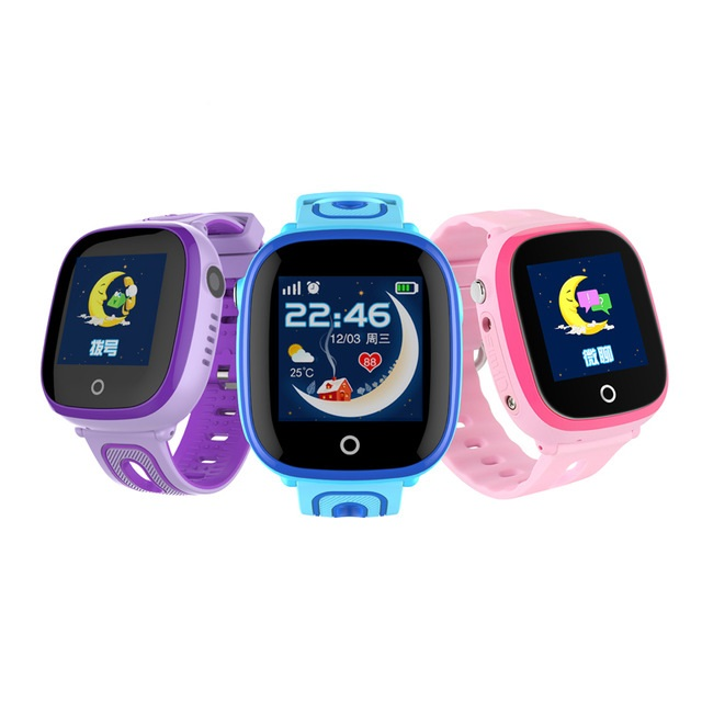 DF31G IP67 Waterproof Smart Kids Watch GPS Positioning Touch Screen SOS Call Sports Smart Watch for Children Baby Students