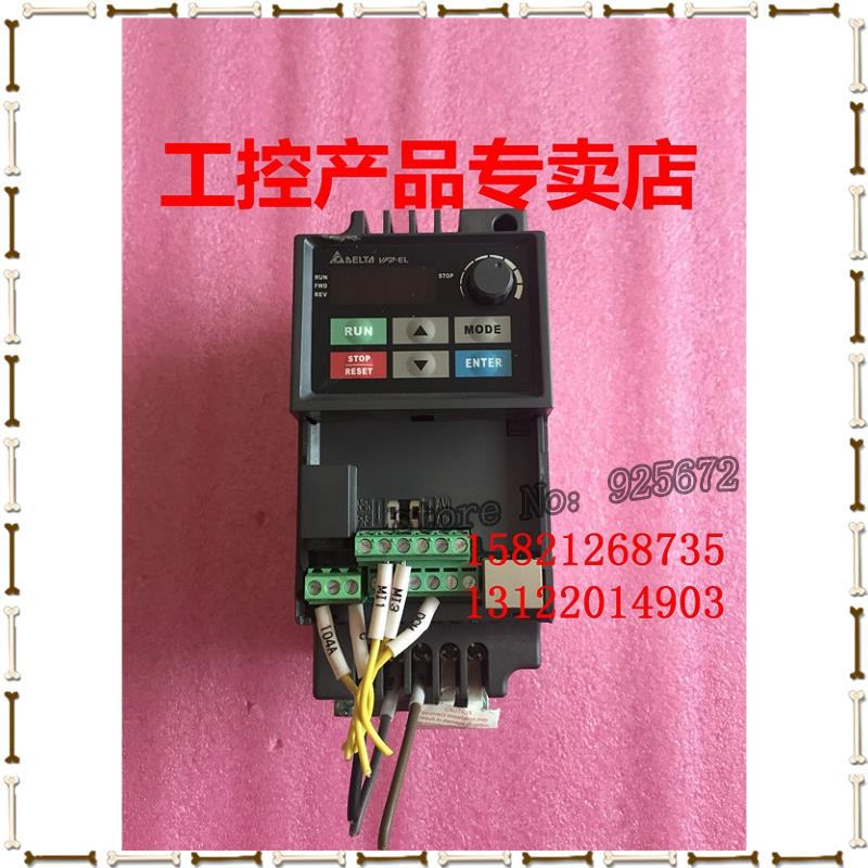 As VFDS - E series inverter VFD004EL21A 0.4 KW 220 v physical figure had been test package in the inverter e vfd022e21a photo 2 2 kw 220 v has been test package is good