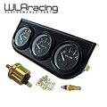 WLR STORE-52mm Electrial Triple Kit (Voltímetro + Indicador Temp aceite Indicador de Presión de Aceite) Sensor de Temperatura Del Coche Auto calibre WLR-TAG01