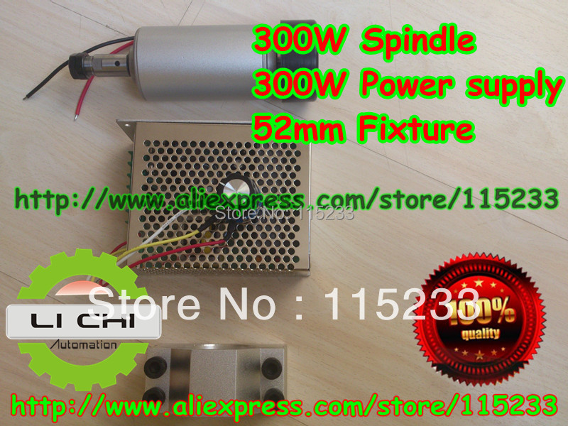Shop Promotions Free 1Pcs ER11 chuck &DC12-48 CNC 300W Spindle Motor &Mount Bracket & spindle power 300W For PCB Engraving shop promotions free 1pcs 3 175 1 8 chuck 10pcs dc 12 57 cnc 200w spindle motor mount bracket 12 110vdc for engraving carving