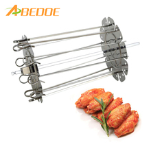 Chicken-Grill Forks Rotisserie Oven Turkey Beef Cooking-Tools Spit BBQ Charcoal Roasted
