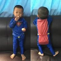 סופרמן ילדים ילדי ביגוד רכיבה שרוול ארוך ג 'רזי רכיבה על אופניים Ciclismo Ropa האביב/בגדי סתיו אופניים איזון עצמי