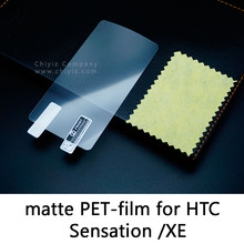 Glossy Frosted Matte Antiglare Tempered Glass Protective Film Screen Protector For HTC Sensation XE Z715e HTC