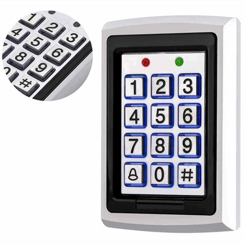 SZBestWell RFID Card  Door Entry Single Door Lock Waterproof  Metal Case Access Control  Keypad System With 10 KeyCard