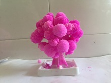 2018 10x8cm ThumbsUp! Magiska japanska Sakura Tree Desktop Cherry Blossom-Brand Hot Made i Japan Rosa Magically Grow Paper Trees