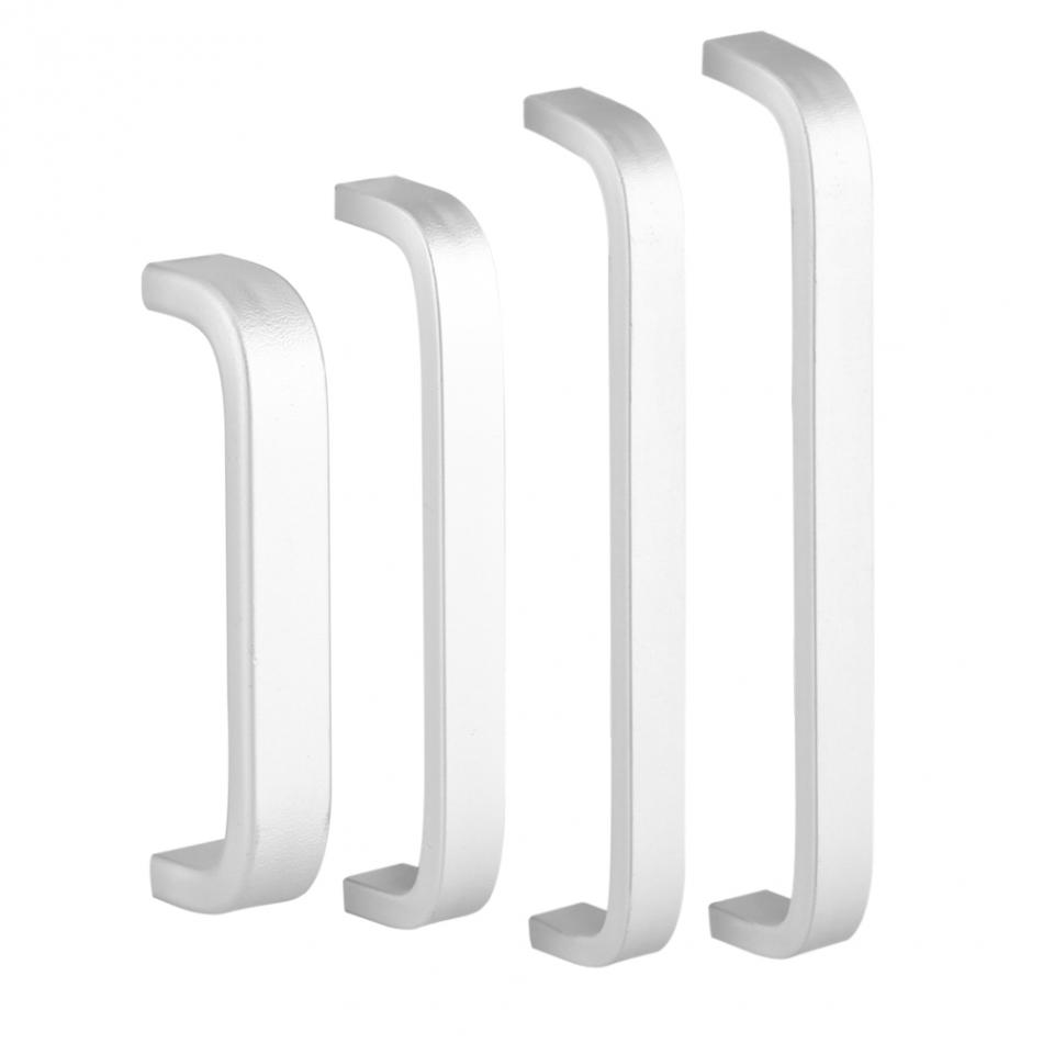 Aluminum Alloy Door Handles Surface Hardware for Kitchen Cabinet Furniture Cabinet Knobs Drawer Wardrobe Cupboard Accessories
