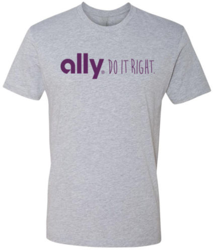 Ally Financial Online Banking T Shirt image