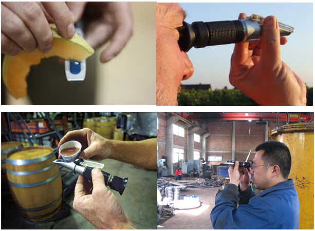 Beer Alcohol meter Beer Alcohol Tester Beer detector Beer Tester Hydrometer Wort 0-32% brix 1.000-1.120 wrot SG rapid tester battery hydrometer tester