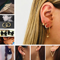 Stud Earrings Simulated Pearls Crystal Infinity Bow Cat Bijoux Fashion Jewelry Brincos Earing 2019 pendientes mujer