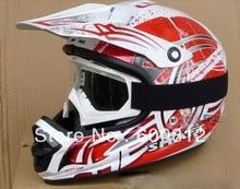Beon т-13 — дорога шлемы мотокросс шлем мотоциклетный шлем мотоцикл шлем с молния красный / белый цвет ml XL