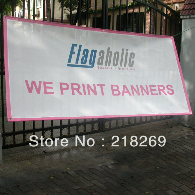 Online Get Cheap Mesh Vinyl Banner Aliexpresscom Alibaba Group - Vinyl banners with grommets