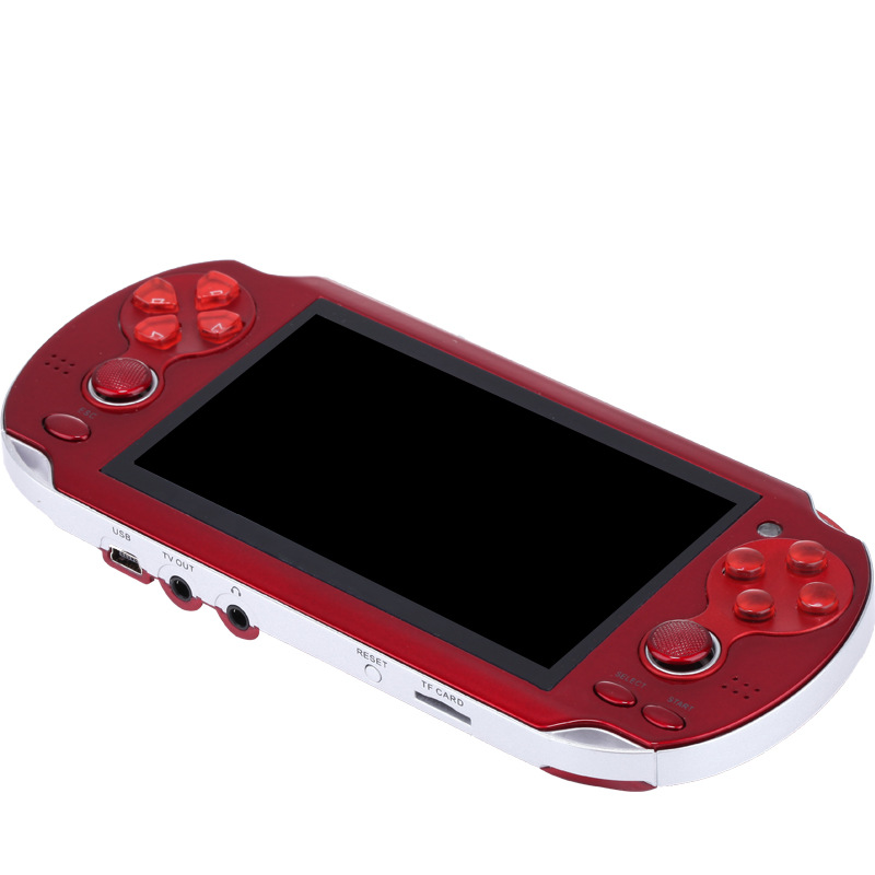 Retro Handheld Game Console 4.3 inch  Screen Dual Rocker 8G Memory Nostalgic Classic Video Games for PSP Handheld Video Game|Handheld Game Players|   - title=