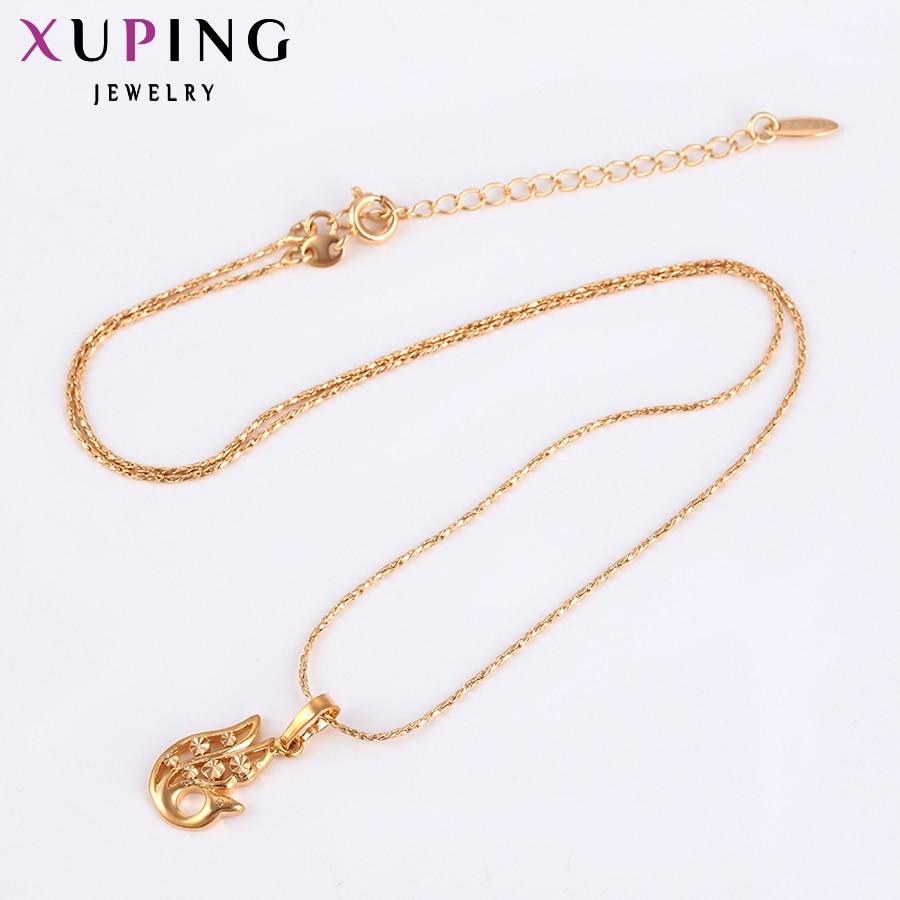 Xuping Pendant Special Design Guldfärgplatta Vackra och mode smycken - Märkessmycken - Foto 3