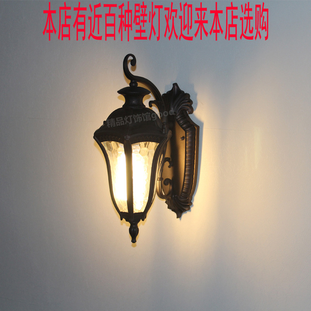 Fashion wall lamp rustic wall lamp chinese style vintage modern brief antique lamps outdoor waterproof wall lamp