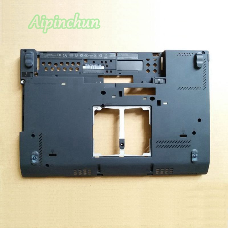 Aipinchun LCD Boton Cover Case For Lenovo ThinkPad X230I X230 D Shell Base Bottom Cover Lower Case new original for lenovo thinkpad x1 carbon 5th gen 5 back shell bottom case base cover 01lv461 sm10n01545