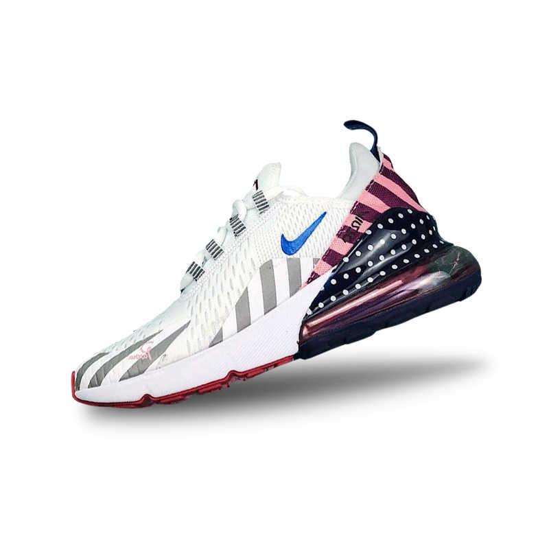 innovative design 8d33e cb302 ... Nike Parra X Nike Air Max 270 Rainbow Park Running Shoes For Men And  Women AH6789 ...